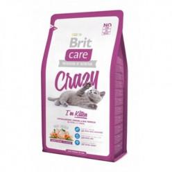 BRIT CARE Cat Crazy для кошенят з куркою та рисом (ціна вказана за 100г)