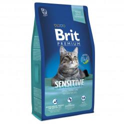 BRIT PREMIUM SENSITIVE для котів з чутливим травленням, ягня та індичка (ціна вказана за 100г)
