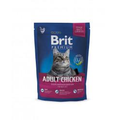 Сухий корм BRIT PREMIUM з куркою для дорослих котів, 800г