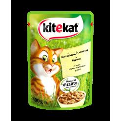 UA KITEKAT™.З куркоюв соусі. Повнораціонний консервований корм для дорослих котів.