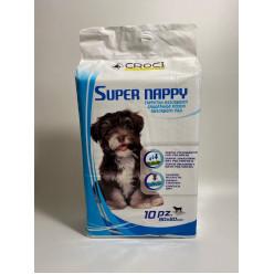 Пелюшки для собак CROCI Super Happy, 60х90см (ціна вказана за 1 шт)