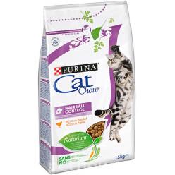 Корм CAT CHOW (Кет Чау) виведення шерсті, зі смаком курки для дорослих котів, 1,5кг