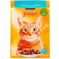 Вологий корм FRISKIES для котів з тунцем, 85г